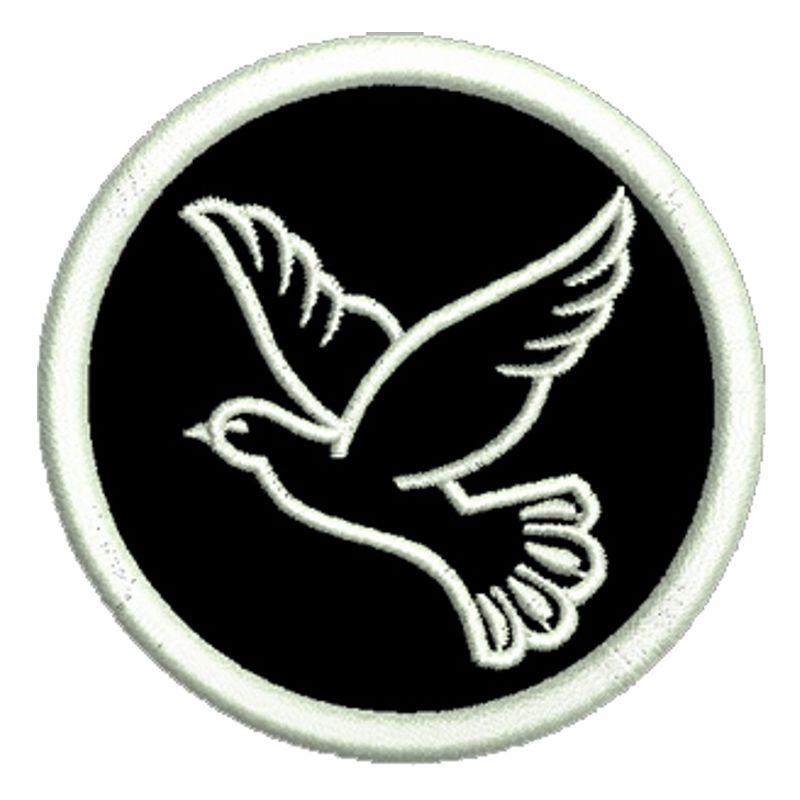 friedenstaube aufn her peace patch kutte mc rocker freie auswahl zum aufb geln ebay. Black Bedroom Furniture Sets. Home Design Ideas